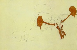 """Stag's Head"", 1954  By: JOSEPH BEUYS…."