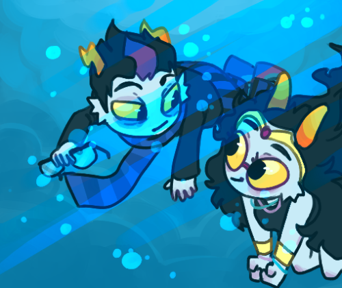 dampho:  got a request for some seadweller babies uwu but in reality it would be more like this:   Yeee!