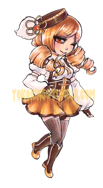 Commission for Starlight Deco Dream.Mami this time from Puella Magi Madoka Magica!