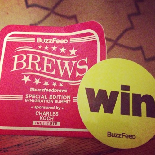 Great time at #buzzfeedbrews tonight! (at The Liaison Capitol Hill, An Affinia Hotel)