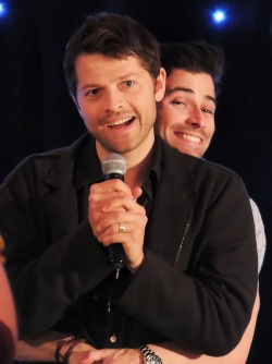 mr-bagginshield:  Matt and Misha at Asylum 10 (: