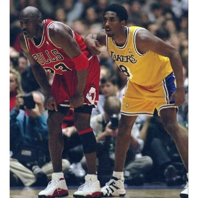 animalsteele:  Best 2 ever do it: @Jumpman23 & @kobebryant