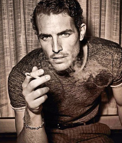 fordmodels:  Justice Joslin for Man of the World.  This human exists?