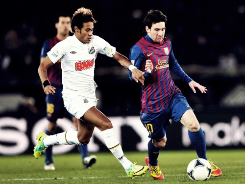 classicplayers:  Messi x Neymar Final do Mundial de Clubes 2011: Barcelona 4x0 Santos
