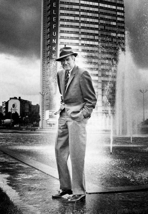lars134:  Jimmy Stewart in Berlin, 1962