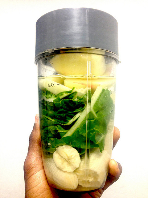 Banana, Chard, Apple, Ginseng, Coconut Water