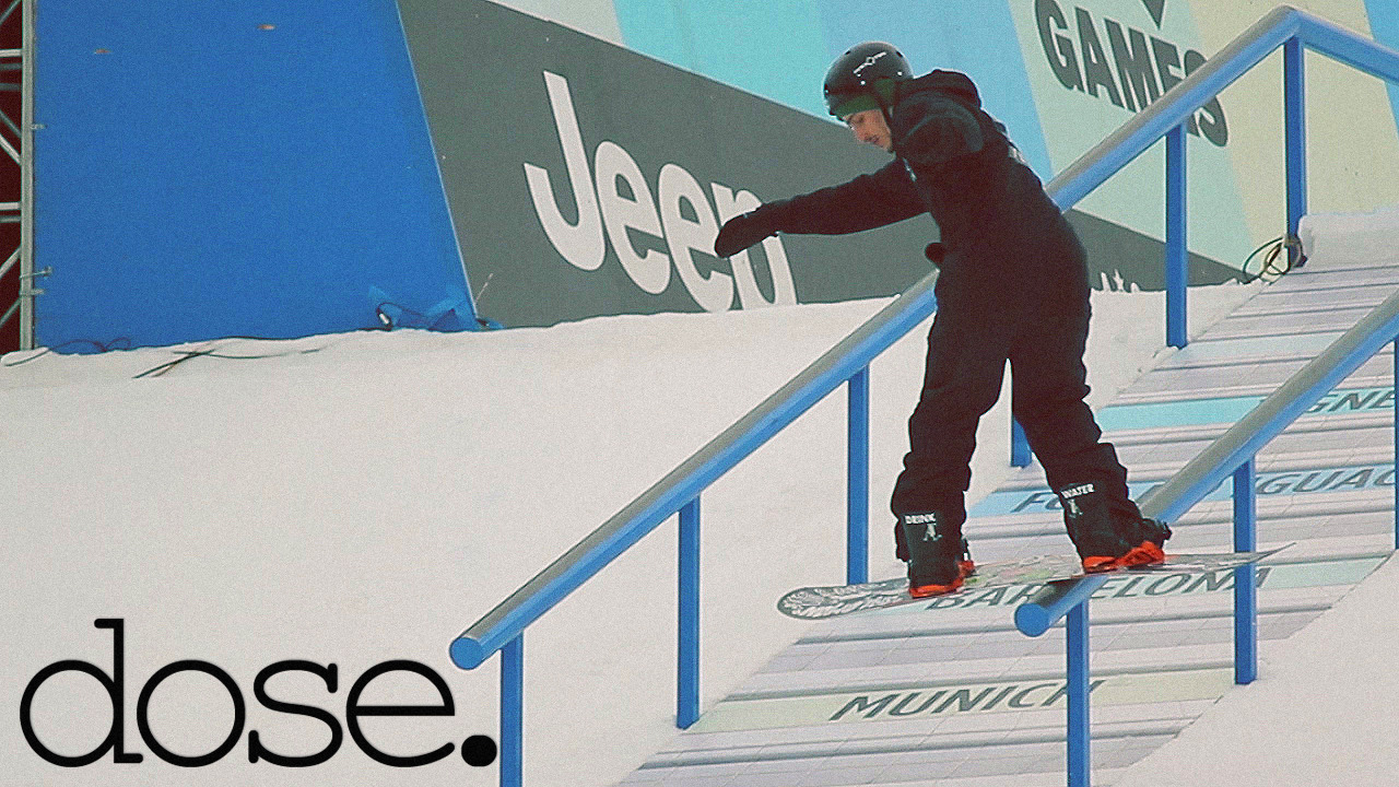 X Games Real Snow and Street Gold Medalist Louif Paradis on dose today! Click the photo to check it out!