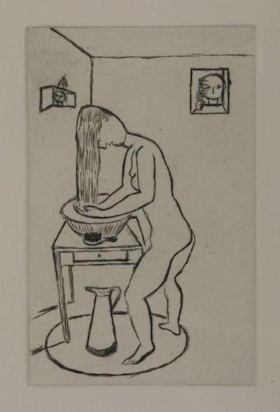 Louise Bourgeois, Toilette (self-portrait), 1994