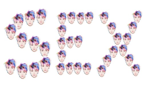 What Sehun's teaser was basically screaming at me.