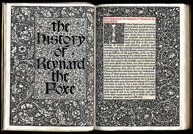 blushisthecourt:  The History of Reynard The Fox, William Caxton.