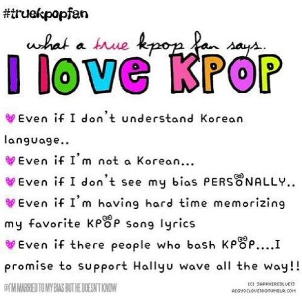 I promise to support Hallyu wave all the way! 🇰🇷✌💙💜💚💛#truekpop#fan #kpop #fangirl