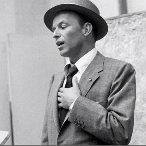 My new background what do you think #franksinatra #sinatra