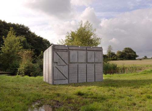 RACHEL WHITEREADDetached III, 2012Concrete and steel77 3/16 x 67 11/16 x 115 3/4 inches  (196 x 172 x 294 cm)