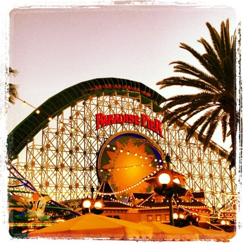 California Screamin' broke down after the girls got off the ride. #Disney #californiaadventure / on Instagram http://bit.ly/10DRxTX