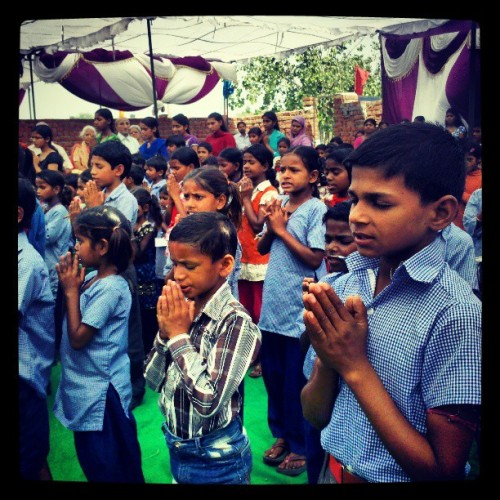 #prayer at new centre of world peace mission trust
