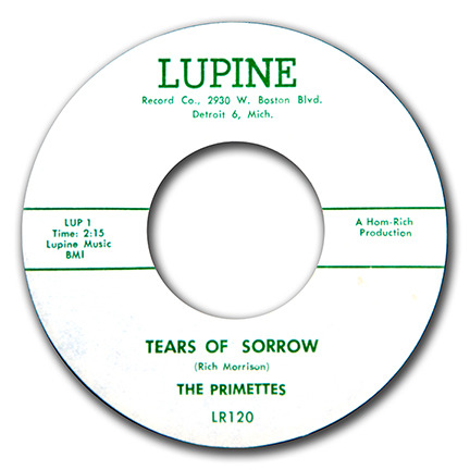 Tears Of Sorrow / The Primettes Debut recording by the group that became The Supremes