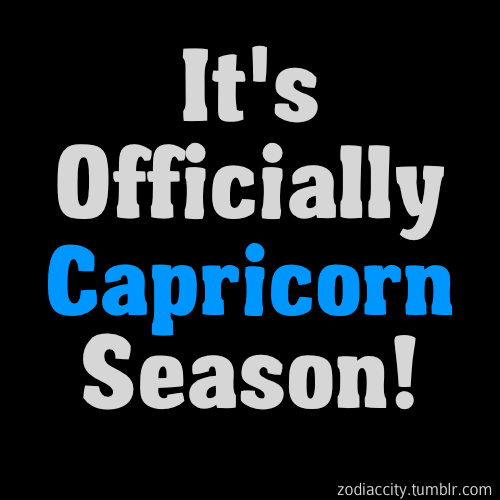 zodiaccity:  Big shoutout to all the Capricorns!