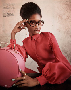 calivintage:  (via Melodie Monrose is 60s Glam for Mariano Vivanco in Elle US April 2013 | Fashion Gone Rogue: The Latest in Editorials and Campaigns)