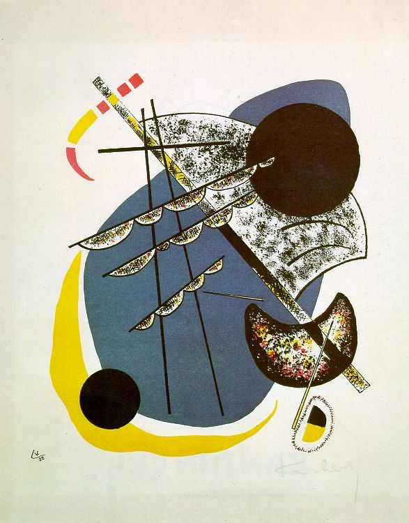 german-expressionists:  Wassily Kandinsky, Small Worlds II, 1922