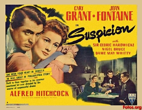 Suspicion (1941) - April 21  Johnnie Aysgarth: If you're going to kill someone, do it simply.