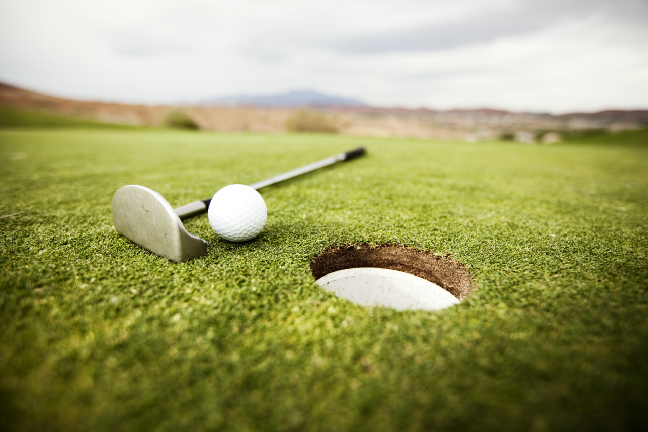 First tee golf course