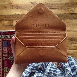 "Rennes, Milo Wallet ""Wallet sample from the factory take 2, much better this time around"""