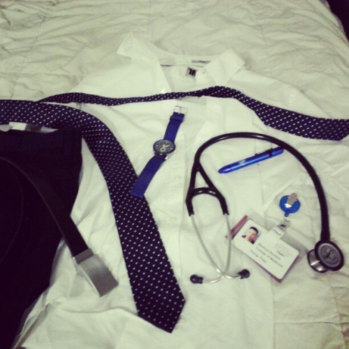 OSCE today #ootd #alwayslate #doctorgame #vietnamese #osce