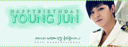 130511 YoungJun's 24th Birthday!