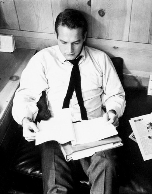 Paul Newman photographed by Leigh Wiener, 1961.
