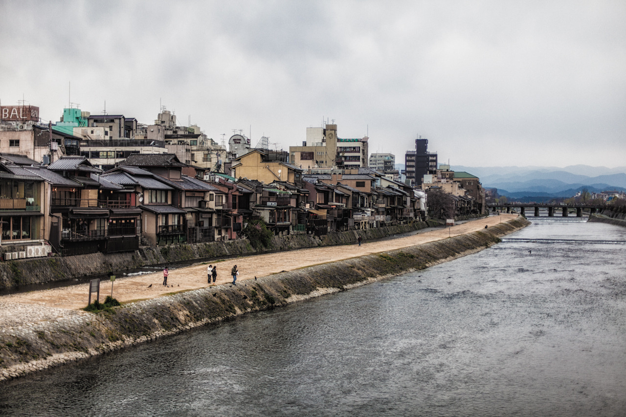 Kamogawa River, Kyoto on Flickr. The Kamogawa River in Kyoto