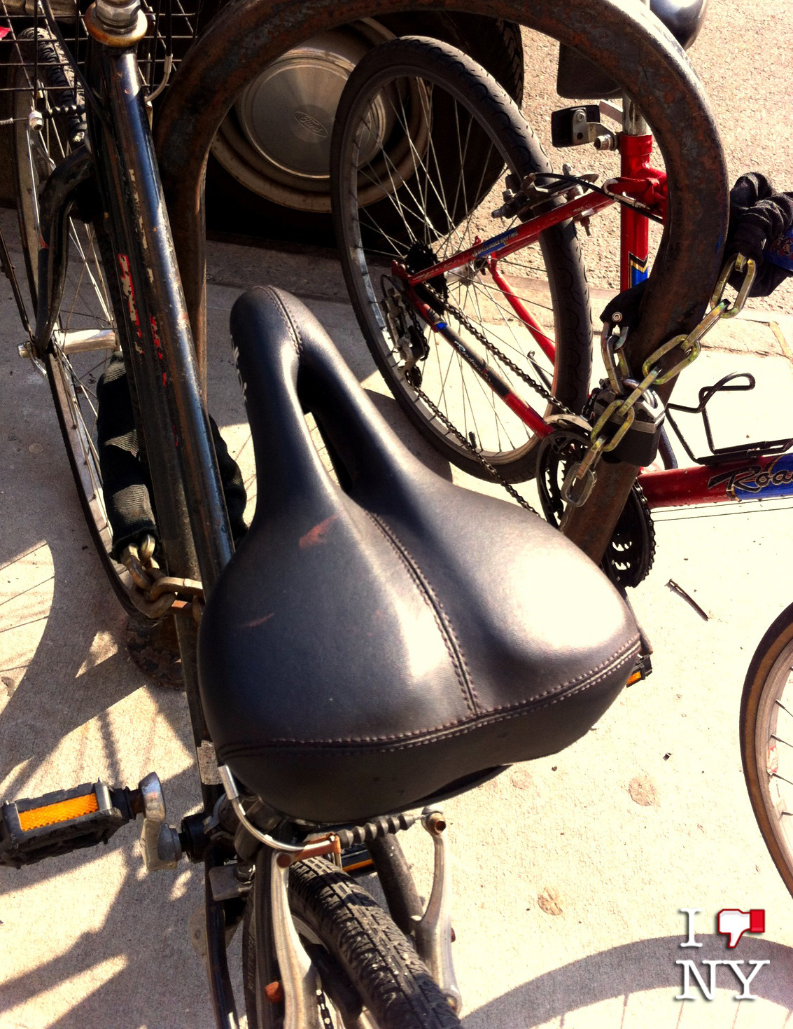 At last, they make bicycle seats that let your vagina breathe.