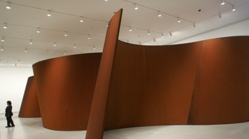 The week is half-way over. Let's celebrate with a little Richard Serra…