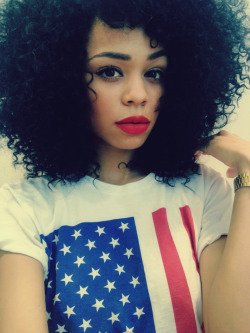 ultimatebeauties:  GET THE USA FLAG TEE HERE→ (model: cryschanelle) every item you order from the ultimatebeauties fashion collection, gives you a free weeks worth of advertisement for your blog/website (bonus: gain lot's of followers) learn more→