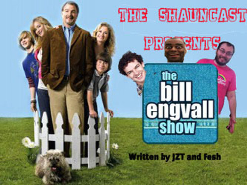 "Mitchell Stephen Fesh and I wrote a spec script for the Bill Engvall Show. It's called ""When You Assassinate the President, You Make an Ass of You and I"".  We will be having a live staged reading on June 1st at Shaun Diston's house at 1 PM. It will also be recorded and released at a later date as an episode of the Shauncast.  Afterwards, we're all going to go to the Astoria Beer Garden. It's going to be a really nice day.  Please come out!"