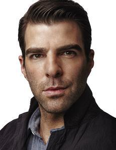 Zachary Quinto photoshoot for Backstage