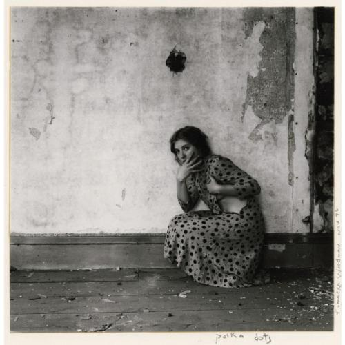Francesca Woodman Polka Dots, November 1976