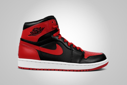 equniu:  Air Jordan 1 Black/Red Releasing Winter 2013