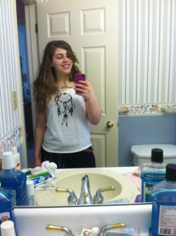 It's about two sizes too big but I love this shirt. :3 from etsy