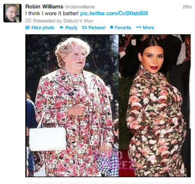 tsarcasm:  LMAO why is he so petty  Robin Williams nails it again.