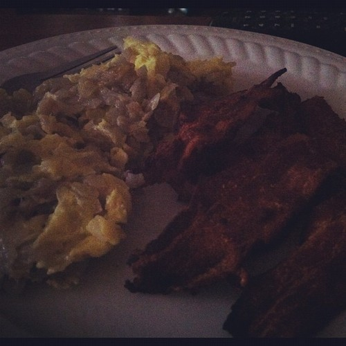 #breakfast #eggs #bacon