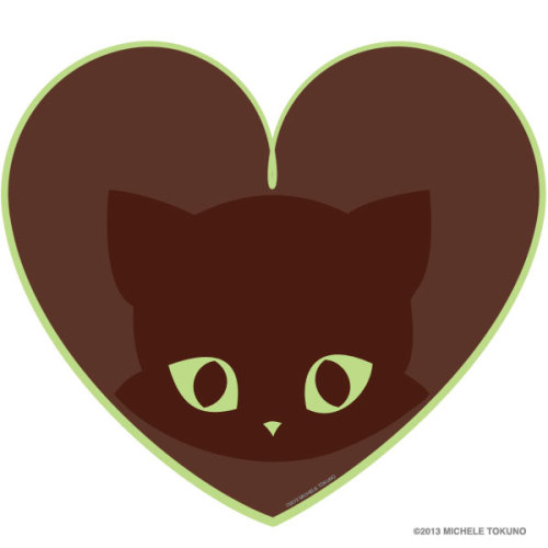 One of our new designs this year: Bucky's Mint Chocolate Heart! Find him on the Cafepress' new All Over Print shirts as well as tees, hoodies, and more. Makes a sweet gift for Valentine's Day. Just click through to see.