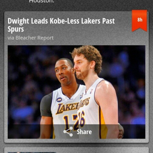 Dwight Leads…that should have been the headline all season #LoveKOBE but #DontNeedAballHog