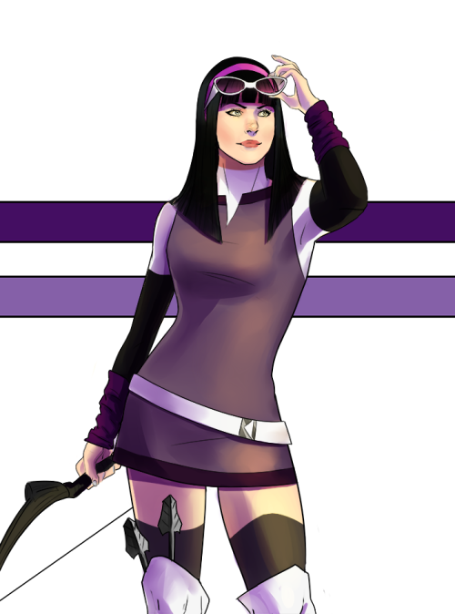stussyhussy:  i guess i redesigned kate bishop  oh em gee