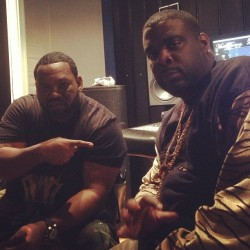 Me and my nigga @Raekwon in the studio  Let's get it!! #wutang #traxsterinc