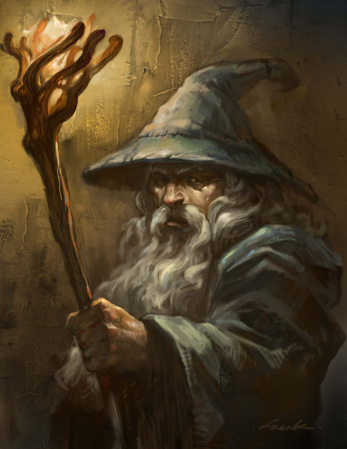 Gandalf the Grey - by Biggie