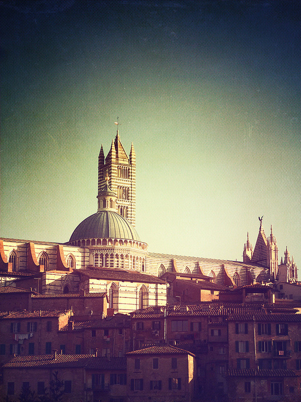 | ♕ |  View of Siena - Tuscany  | by © Visualtricks