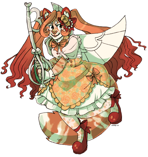 Another character from Julia!! I love her colours a lot""