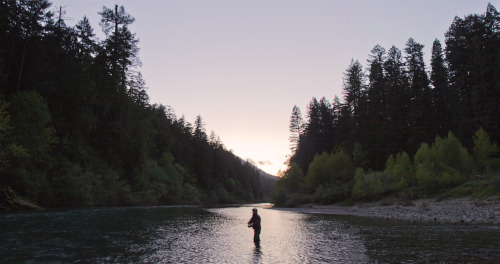patagonia:  Fishin' the Eel River.