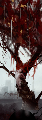 deharme:  THE TREE / … still in progress !Bastien Lecouffe Deharmewww.roman-noir.com