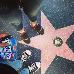 at Hollywood Walk Of Fame